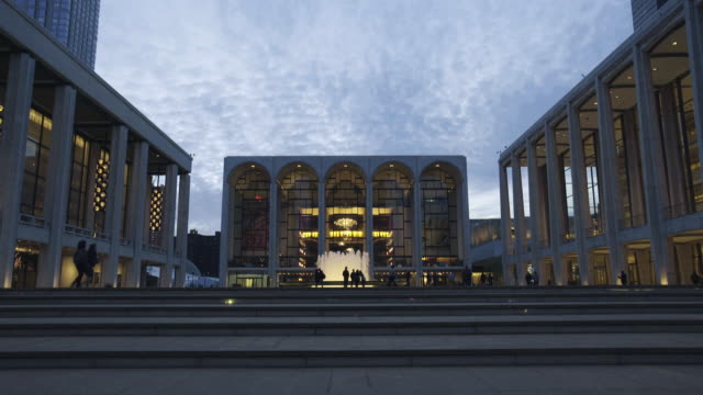 Lincoln Center - establishing shot 3