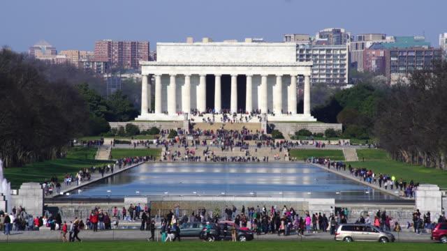 Lincoln Memoriale, Washington DC, Stati Uniti.