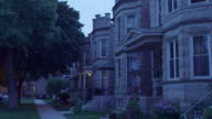 WS PAN Lincoln Square greystone apartments night