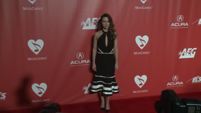 Linda Cardellini at MusiCares Person of the Year Honoring Tom Petty in Los Angeles CA