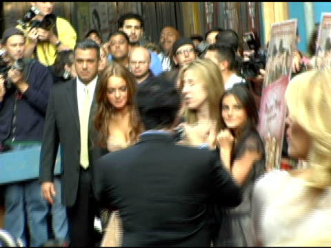 Lindsay Lohan at the 'A Prairie Home Companion' New York Premiere at the DGA Theater in New York New York on June 4 2006