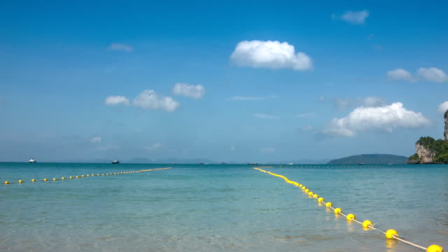 line of buoy