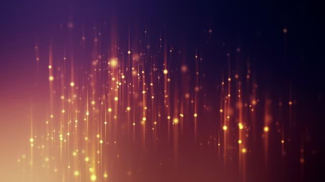 Lijnen met kleur deeltjes lus