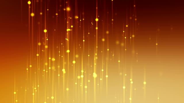 Linien mit goldenen Partikeln Schleife