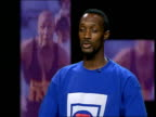 Linford Christie cleared of drug taking ITN London Dalton Grant interview SOT Reacts to Christie being cleared