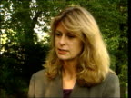 Linford Christie cleared of drug taking ITN Jayne Pearce interview SOT Not a whitewash
