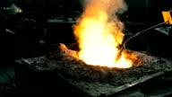 Liquid metal Temperaturmessung in der Gießerei