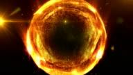 Liquid orange energy ball