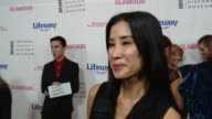 INTERVIEW Lisa Ling at Women Making History Awards Honoring Kerry Washington Instagram COO Marne Levine SpaceX President COO Gwynne Shotwell at The...