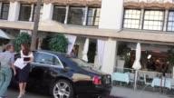 Lisa Vanderpump filming Vanderpump Rules in Beverly Hills in Celebrity Sightings in Los Angeles