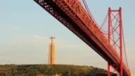 Lisboa Barco Tejo ponte 25 abril cristo rei