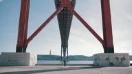 Lisbon 25 April bridge 'Ponte 25 de abril'
