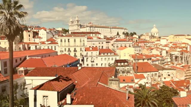 Lisbon Alfama panoramic view