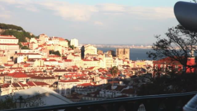 Lisbon, panoramic view at twilight