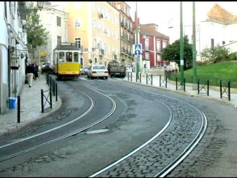 Lisbon Portugal Cable Trolly Car 2
