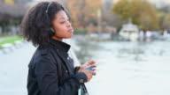 Listening to music on smart phone