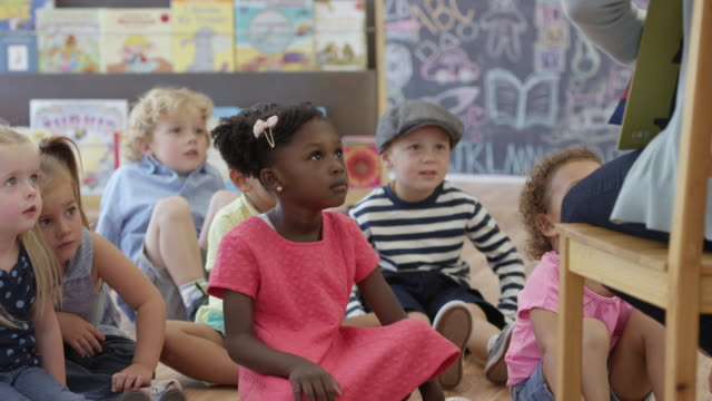 Listening to the Preschool Teacher Read