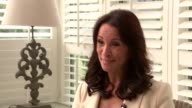 Author Jackie Collins dies Andrea McLean interview McLean interview SOT on her last memories of Jackie Collins