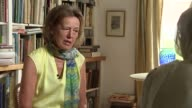 Biographer Claire Tomalin interview Claire Tomalin interview SOT On her son Tom Tomalin