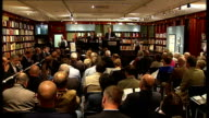 Sotheby's book auction ENGLAND London Sotheby's INT Various shots of auction of Sheffield FC book of rules including auctioneer audience members...