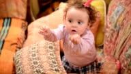 Little baby dancing