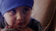 Little Boy with Disease