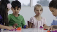 Little Children Molding Clay
