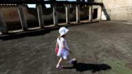 Little Girl in Pompeii