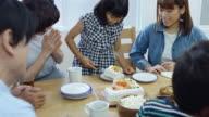 Little Girl Serving Cake