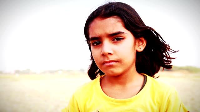Little Girl Standing Portrait