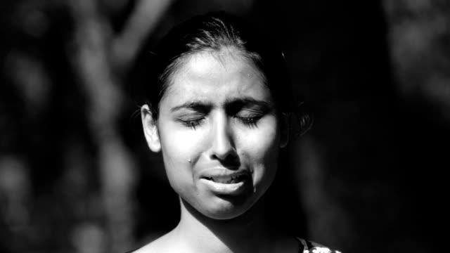 Little Girl Weeping