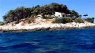 Kleine Insel im Adriatischen Meer