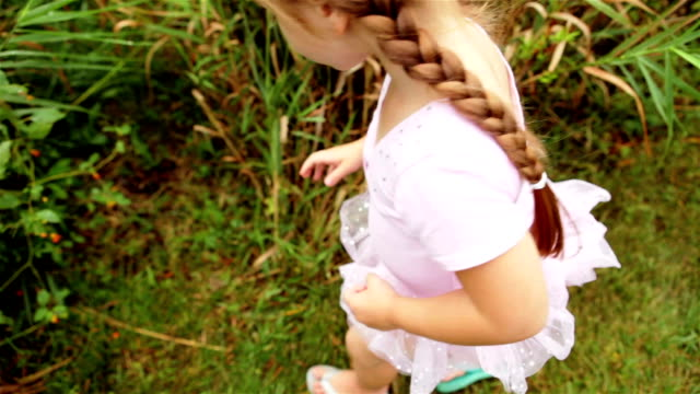 Little Princess Kisses a Toad