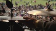 C/U EXT Live Concert Drummer on Stage Festival
