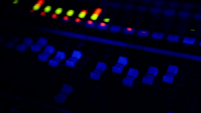 Live performance concert sound controller
