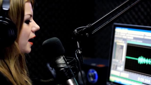 Live Radio Newscaster