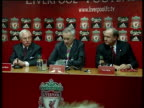 Liverpool FC agree takeover bid by American businessmen George Gillett Tom Hicks and Rick Parry photocall and press conference Rick Parry press...