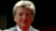 Liverpool FC appoint Roy Hodgson as new Manager Press conference ENGLAND Liverpool Anfield EXT New Liverpool Manager Roy Hodgson from tunnel and...