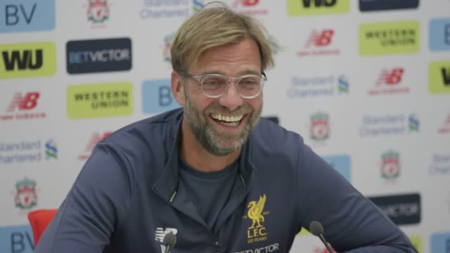 Liverpool manager Jurgen Klopp gives a press conference ahead of the team's Premier League game against Southampton