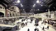 Liverpool Station, busy timelapse