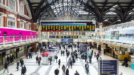 Liverpool Street Station - Timelapse