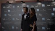 Livia Firth Colin Firth at Alexander McQueen Savage Beauty Fashion Gala At The VA Presented By American Express And Kering at Victoria and Albert...