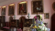 PAN Living room interior of Glamis Castle / Glamis, Scotland, United Kingdom
