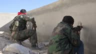 Liwa alQuds fighting around Aleppo city Syria