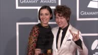 Liz Kweller and Ben Kweller at The 55th Annual GRAMMY Awards Arrivals in Los Angeles CA on 2/10/13