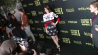 Lizzy Caplan at HFPA And InStyle Celebrate The 2014 Golden Globe Awards Season at Fig Olive Melrose Place on November 20 2014 in West Hollywood...