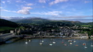 Llandudno  - Aerial View - Wales, County Borough of Conwy, United Kingdom