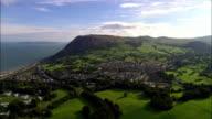 Llanfairfechan & Penmaen Mawr (Quarry)  - Aerial View - Wales, Caernarfonshire and Merionethshire, United Kingdom