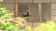 Lloyds Bank returns fully to private hands R28071607 / 2872016 EXT Various of the Lloyds Banking Group headquarters
