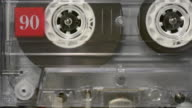 Loading an audio cassette tape